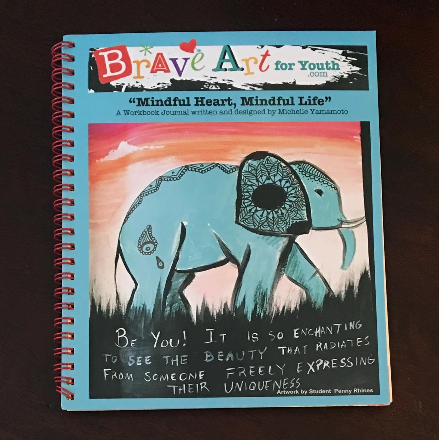 9a5084cdafa4 Workbook Journal - Brave Art For Youth